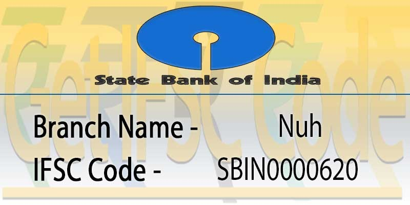 state-bank-india-nuh-ifsc-code