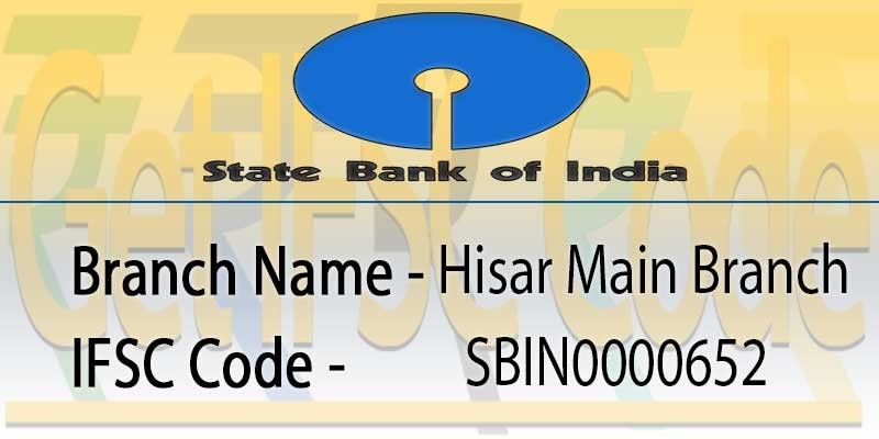state-bank-india-hisar-main-branch-ifsc-code