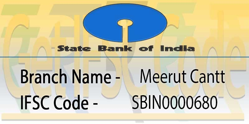 state-bank-india-meerut-cantt-ifsc-code