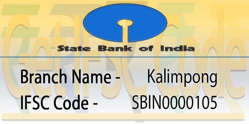 state-bank-india-kalimpong-ifsc-code